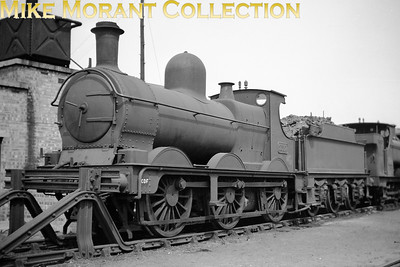 Dean Goods 0-6-0 no. 2537 in GWR guise at CDF Cardiff Canton shed which is where it would be withdrawn in January 1953. [Mike Morant collection]