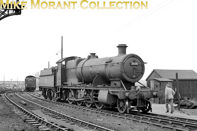 Churchward 2800 class 2-8-0 no. 2874 at Severn Tunnel Junction mpd. [Mike Morant collection]