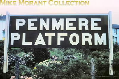 Penmere Platform running-in board.