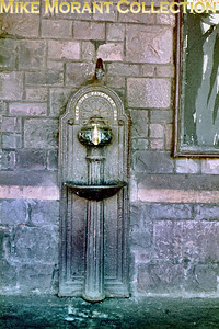 A drinking fountain at what I think is Minehead station and I have a feeling that it might still be there.