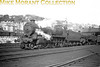 <center><u>Vintage Irish Republic Railways - Steam in Eire - 1954</u><br>Ex-GSR K1A 'Woolworth' 2-6-0 no. 395 at Cork's Glanmire Road shed on 11/9/54.<center>