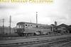 <center><u>Vintage Irish Republic Railways - Diesels in Eire - 1954</u><br>Unidentified AEC diesel railcars at Inchicore diesel depot on 14/9/54