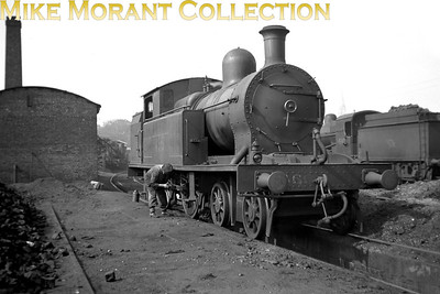 Vintage Irish Republic Railways - Steam in Eire - 1954Ex-D&SER Class C2 4-4-2T no. 455 at Broadstone shed on 25/4/54.