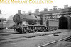 <center><u>Vintage Irish Republic Railways - Steam in Eire - 1954</u><br>Ex-M&GWR class J4 0-6-0 no. 261 at Dublin's Inchicore shed on 14/9/54.<center>