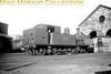 <center><u>Vintage Irish Republic Railways - Steam in Eire - 1954</u><br>Ex-D&SER class F2 2-4-2T no. 433 at Dublin's Broadstone shed on 14/9/54.<center>