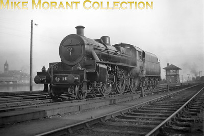 Vintage Irish Railways - Northern Ireland - UTAW class mogul no. 104 at Derry on 28/4/54.