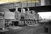 <center><u>Vintage Irish Republic Railways - Steam in Eire - 1954</u><br>Ex-GS&WR class F6 2-4-2T no. 36 at Cork's Albert Quay shed on 13/9/54.<center>