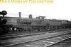 <center><u>Vintage Irish Republic Railways - Steam in Eire - 1954</u><br>Ex-Waterford, Limerick and Western Railway G3 class 2-4-0 no. 291 at Limerick shed on 9/9/54.<center>