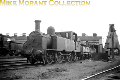 Vintage Irish Republic Railways - Steam in Eire - 1954Ex-GS&WR F6 2-4-2T no. 42 at Inchicore shed on 5/9/54.