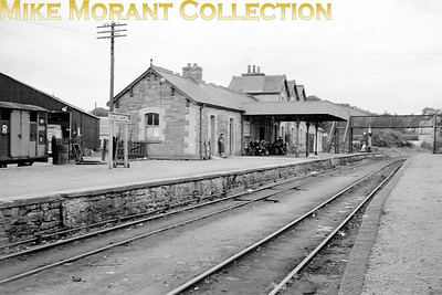 Vintage Irish railways - CDRJC - County Donegal Railways Joint Committee A 1950's view of Donegal station on the Irish narrow gauge. [Mike Morant collection]