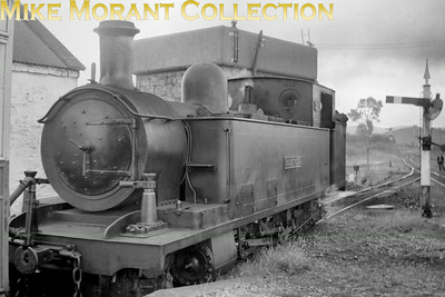 CDRJC 5A class 2-6-4T no. 2 Blanche at Donegal station. [Mike Morant collection].