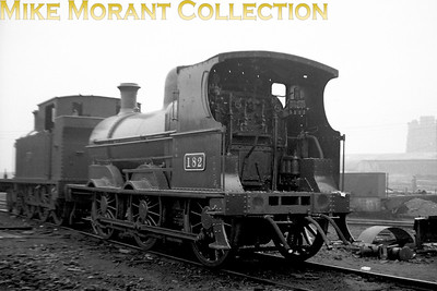 CIE no. 182 was a former GS&WR J15 class 0-6-0 ex-works at Inchicore in 1938. [Mike Morant collection]