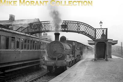 CIE no. 107 was a former GS&WR J15 class 0-6-0 and is depicted here at an unknown location but someone is bound to recognise it. [Mike Morant collection]
