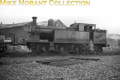 Vintage Irish Railways - Northern Ireland - UTAThe unique ex-BCDR 0-6-4T no. 229 in typically pristine condtion shunting as usual at Belfast's Queen's Quay on 5/9/53.