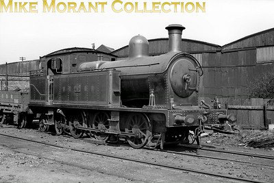 Vintage Irish Railways - Northern Ireland - BCDRThe Belfast and County Down Railway's need for a powerful shunting presence at Queens Quay resulted in the delivery of this Beyer Peacock built 0-6-4T in 1923. Numbered 29 in the BCDR fleet she would see 32 years of service with three owners until eventual withdrawal from service with the UTA in 1955. [Mike Morant collection]