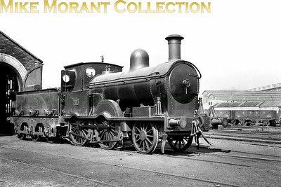 Vintage Irish Railways - Northern Ireland - BCDRThe clarity in this pre-war shot of Belfast and County Down Railway No. 6 is a wonder to behold. This Beyer Peacock one-off loco dated from 1894 and lasted in service until 1951 but then languished in store for a further five years which makes one wonder if there might have been efforts to preserve it.Some locomotive history from Joe Cassells: This very long-lived engine worked the 11.45 Newcastle  train on Saturday 15th January 1950 - the day before the line closed. The late Mac Arnold, an expert in these matters, reckoned that she never steamed after this although she survived under cover for so long that there was a feeling she might have been preserved. [Mike Morant collection]