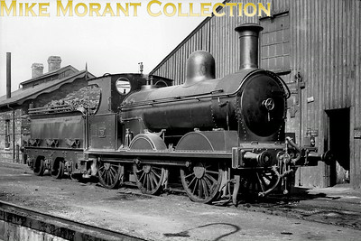 Vintage Irish Railways - Northern Ireland - BCDRBelfast and County Down Railway 0-6-0 No. 26 was a handsome Beyer Peacock product and dated from 1892. As was the case with much of the BCDR's locomotive fleet she was one-off but nevertheless lasted into UTA ownership being withdrawn from service in 1950. [Mike Morant collection]