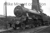 Longsight allocated LMSR Stanier 'Jubilee' class 4-6-0  no. 5566 <i>Queensland</i> at Camden mpd on 26/3/1938.<br> [<i>Mike Morant collection</i>]
