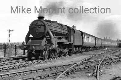 An undated view of Stanier Caprotti 5MT 4-6-0 no. 44750 at Bescot. [Mike Morant collection]