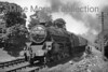Stanier 5MT 4-6-0 no. 45387 works hard whilst in charge of an Up express at Thrimby Grange on the WCML.<br> Location notes by Steve Scott.<br> [<i>Mike Morant collection</i>]