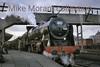 <center><b>RCTS: The Rebuilt Scot Commemorative Rail Tour 13/2/65</b></center> Rebuilt Royal Scot 4-6-0 no. 46115 <i>Scots Guardsman</i> at Crewe.