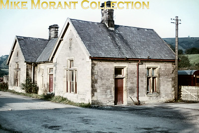 The building at the former Midland Railway station of Wirksworth photographed on 17/10/65. The station had closed way back in January 1949.
