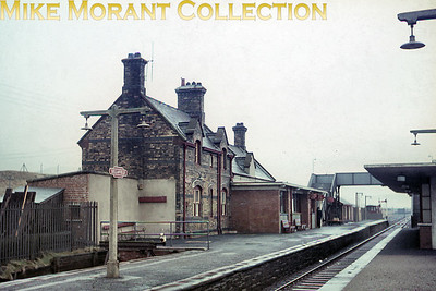 An undated view of the former Furness Railway station at Sellafield with a BR(M) totem station sign clearly visible at the left side of the image. [Mike Morant collection]