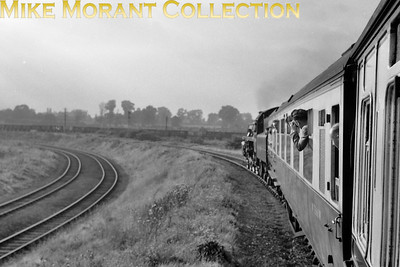 Blertchley South Curve on 12/9/53. [Mike Morant collection]