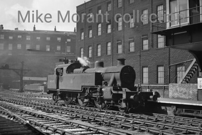 LMSR Fowler 3MT 2-6-2T no. 40065 at Huddersfield.
