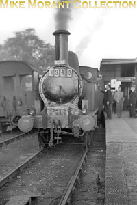 RCTS: Inter Regional Ramblers Special 10/10/54 LNWR Webb 0-6-2T Coal Tank is shown here at Newport Pagnell. [Mike Morant collection]