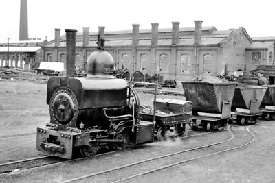 """The Lancashire & Yorkshire Railway had an extensive 18"""" narrow gauge sytem that served their Horwich works internally. Built in 1887 by Beyer Peacock WREN is the best known of the locomotive fleet and continued in service until 1961. Preservation followed and  WREN is an exhibit at the NRM in York which followed several years being exhibited near the entrance to the Clapham Museum of Transport in London."""