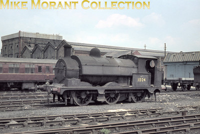 L&YR Apinall class 23 0-6-0ST no. 11324 was the Horwich works shunter until withdrawal in October 1963 and for whatever reason never had its BR number 51324 applied.