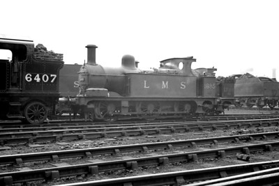 Midland Railway Johnson designed  1F class  0-6-0T no. 1695 was built at Derby in 1879 an would live on into the 1950's being withdrawn at Derby in June 1953.
