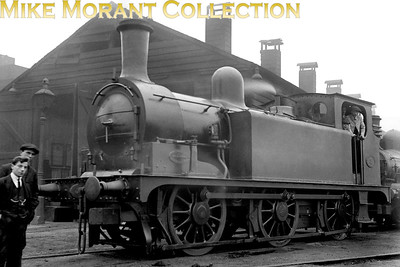 Hull & Barnsley Railway 0-6-0T no. 3 was a Kirtley design dating from 1884 - 1886 and built by Beyer Peacock. The class was originally designated as 'A' but later 'G1'. [Mike Morant collection]