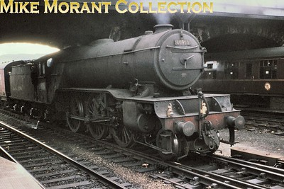 Careworn Gresley V2 2-6-2 no, 60955 enters Perth station in July 1964. Allocated to St. Margaret's at the time, 60955 would be withdrawn from there in the month after this shot was taken. [Mike Morant collection]