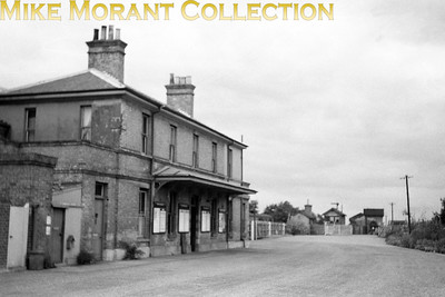 The former GER station of Aldeburgh which had opened on 1/6/1875 and would close on 12/9/1966. [Mike Morant collection]