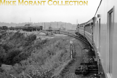 RCTS: East Anglian Rail Tour 6/9/53 The tour train rounds the curve from the Cambridge line towards Hitchin and the GN main line. [Mike Morant collection]