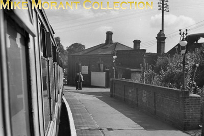 Marks Tey station on 6/9/53. [Mike Morant collection]