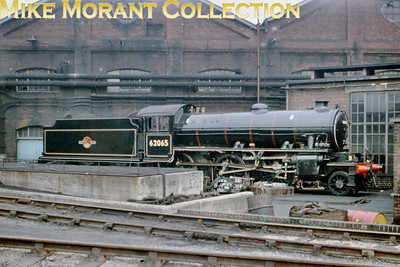 On May 2nd 1964 Peppercorn K1 2-6-0 62065 was to be seen tucked away in this corner outside Darlington works.