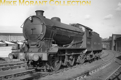 British Railways North Eastern Region Steam EngineGresley J39/2 0-6-0 no. 64916 at West Hartlepool. Early BR livery with the number painted on the buffer beam and BRITISH RAILWAYS in full on the tender indicate that this was taken after November 1948.