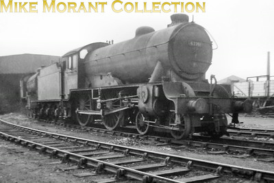 An unidentified Gresley D49/4 class 4-4-0 The Derwent in a careworn state at York's south shed. Photo taken by Mike Morant