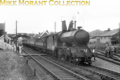 RCTS: Yorkshire Coast Rail Tour 23/6/57 Not many railtours saw D49 haulage but Gresley D49/1 4-4-0 no. 62731 Selkirkshire was the motive power for much of this one. She's depicted here at Whitby West Cliff station which closed on 12/6/61 whilst 62731 fared even worse being withdrawn from Selby shed in April 1959.