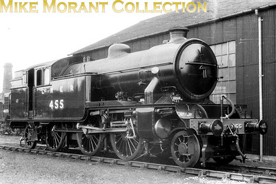 LNER Gresley V3 2-6-2T no. 455. I'm not going to use any more time on this image because I believe that the 35mm negative is a copy from a postcard print. [Mike Morant collection]