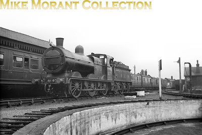 M&GNJR class 'D' 0-6-0 no. 71 was built by Kitson & Co. in April 1899 and acquired the depicted LNER no. 071 in May 1937. Withdrawal came in July 1943 by which time the loco had been reclassified as J41 in the LNER scheme of things. This shot was taken at Melton Constable.