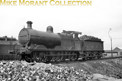 Depicted here at South Lynn shed, M&GNJR class 'D' 0-6-0 no. 62 was built by Neilson & Co. in August 1896 and acquired the depicted LNER no. 062 in May 1937. Withdrawal came in October 1939.