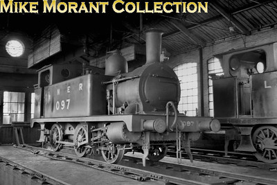 M&GNJR 'Melton 0-6-0T', otherwise not classified, no. 097 photographed, possibly, at South Lynn. The LNER number had been applied in February 1938 and in 1942 the class would be reclassified as LNER class J93. No. 097 was withdrawn in March 1943.
