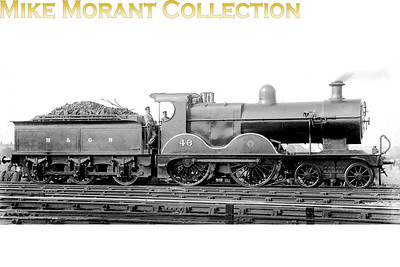 M&GNJR class 'C' 4-4-0 no. 46 was built by Sharp Stewart in June 1894 and would be renumbered by the LNER no. 046 in March 1937. Withdrawal came in March 1943 by which time the LNER had reclassified it as a class D54.