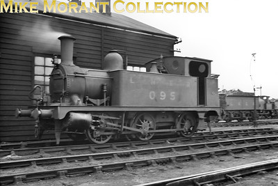 M&GNJR 'Melton 0-6-0T', otherwise not classified, no. 095 photographed at South Lynn. The LNER number had been applied in May 1937 and in 1942 the class would be reclassified as LNER class J93. No. 095 would continue in service long enough for the LNER's 1946 renumbering to be applied in August 1946 but withdrawal would come in December 1947.