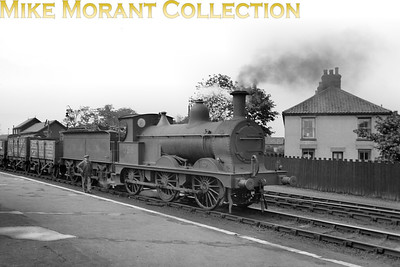 M&GNJR class 'D' 0-6-0 no. 58 was built by Neilson & Co. in August 1896 and acquired the depicted LNER no. 058 in October 1936. Withdrawal came in September 1938. Note that the LNER number has been applied but the tender is still branded with M&GN.