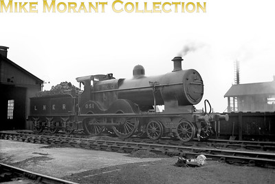 Depicted here at South Lynn shed, M&GNJR class 'C' 4-4-0 no. 51 was built by Sharp Stewart in August 1896 and acquired the depicted LNER no. 051 in September 1937. Withdrawal came in May 1943 by which time the LNER had reclassified it as a class D54.